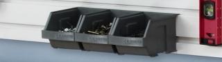 GLADIATOR® Set de petits bacs de rangement - 3 par pack