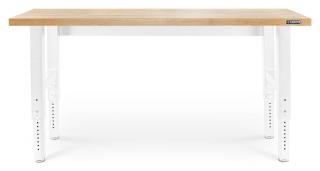 GLADIATOR® 183cm (6') HARDWOOD WORKBENCH, ADJUSTABLE HEIGHT