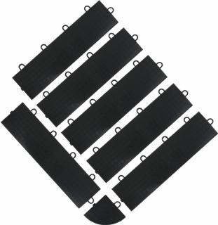 GLADIATOR® Garniture de rive connecteurs femelle - 6 pcs par pack