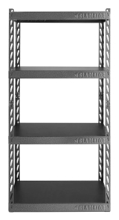 GLADIATOR® EZ Connect Rack 76 x 152 x 38 (LxHxP) 4 tablettes