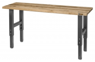 GLADIATOR® Workbench 1,83m Maple Top (adjustable in height) PROMO LAST PIECE !