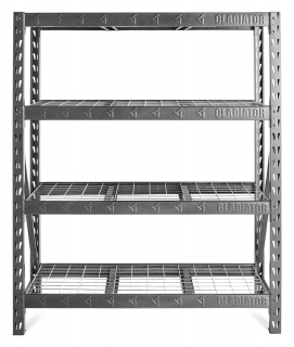 GLADIATOR® 4 Tier Rack Shelf (WxHxD 152x183x46cm)