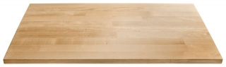 GLADIATOR® Plan de travail de 71cm en bois de feuillu avec protection anti UV pour armoires RTA